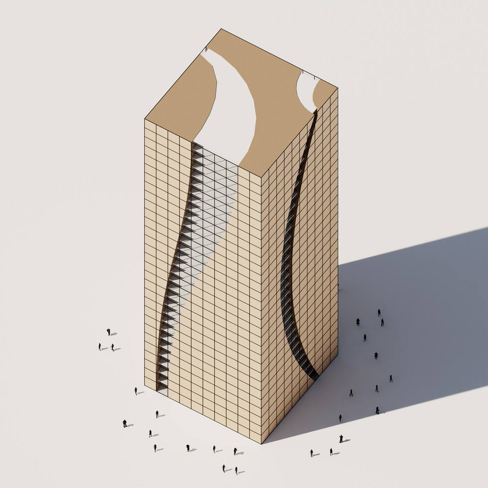 Boolean Difference Tower