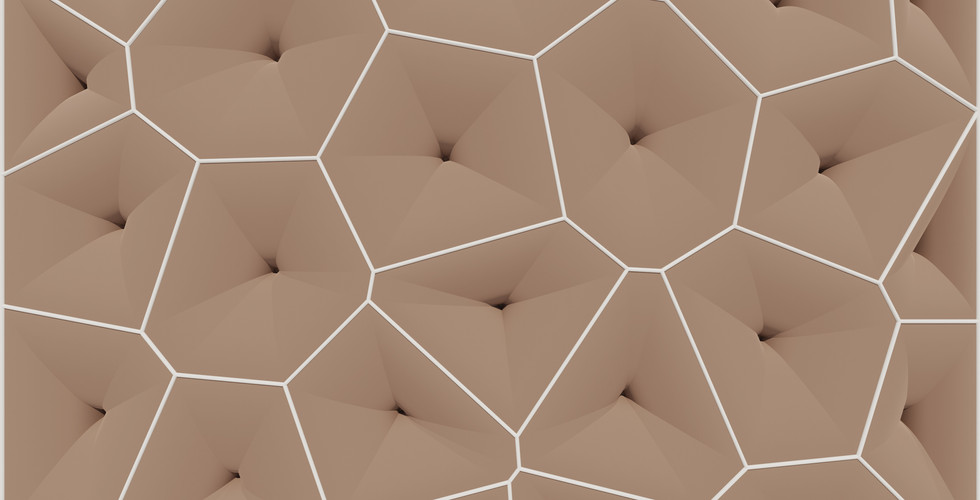 Trumpet-Shaped Voronoi Pattern