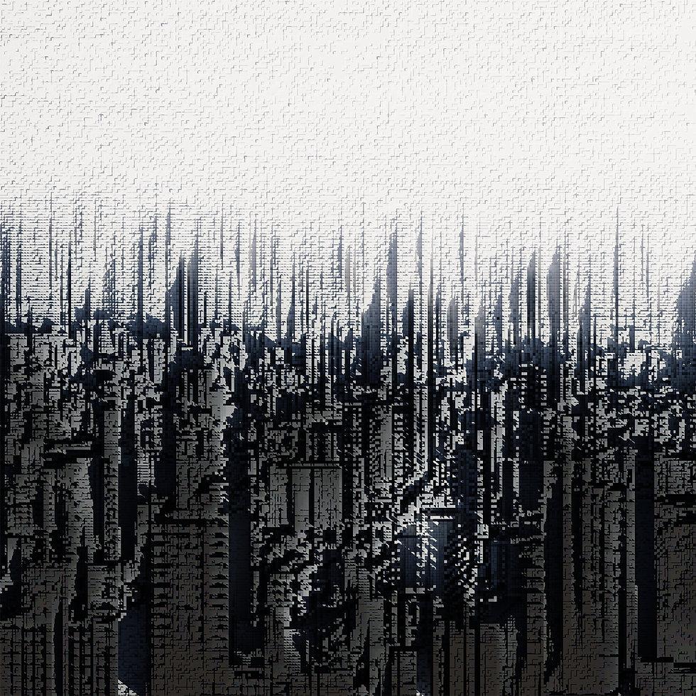 Voxel Art Series_Skyline  #digitalart #render #rendering #artwork  #art #dart #3dmodeling #blender3d #blenderrender #blend3d #b3d #blendercommunity #blendercentral #cyclesrender #3drender #concept #voxel #pixel #architecture #design #voxelart #abstract #skyline #city