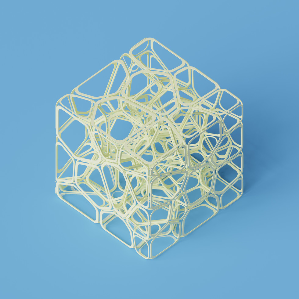 Voronoi Cell Cube