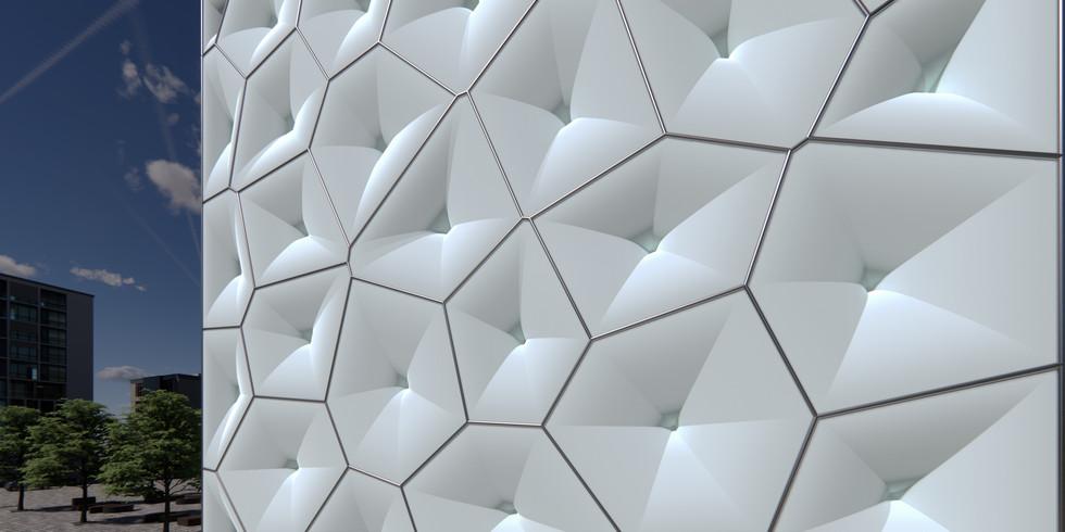 Trumpet-Shaped Voronoi Pattern