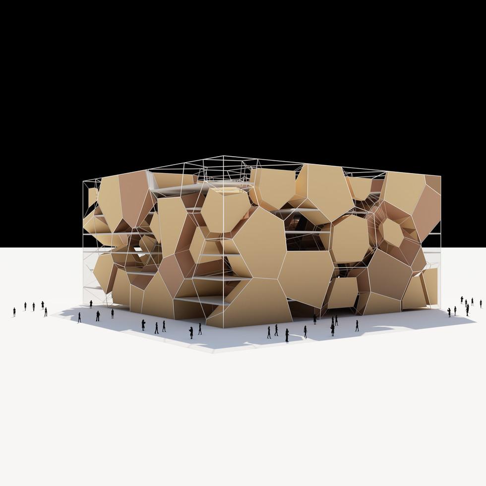 Voronoi Box Structure