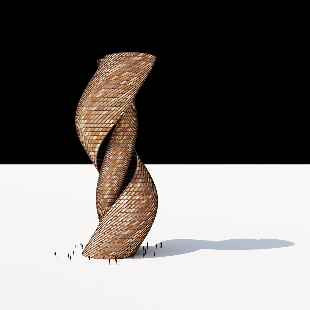Snake Twist Tower