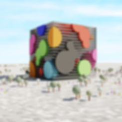 #lowpoly #architecture #illustration #rendering #architecturedesign #blender #blender3d #blenderrender #blend3d #b3d #blendercommunity #blendercentral #cyclesrender #3drender #render #artwork #art #dart #archisource #lowpolyshowcase  #showitbetter #illustrarch #thearchiologist #block #stack #cube #bubble