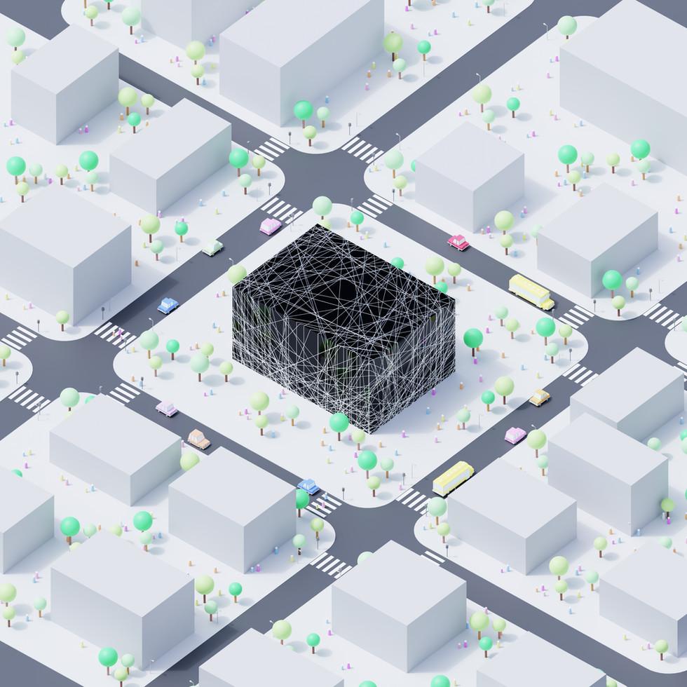 Random Crossing on Cube