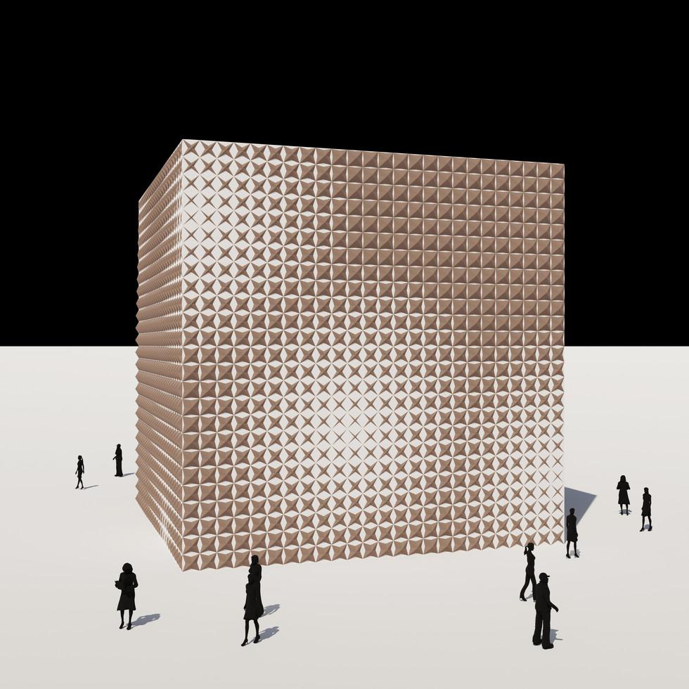Origami Wall Pattern