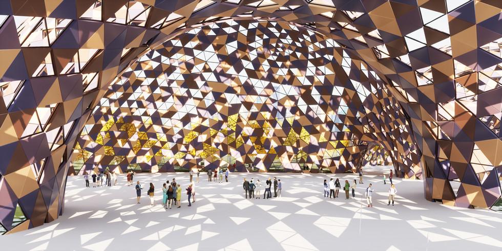 Triangle Panel Pavilion