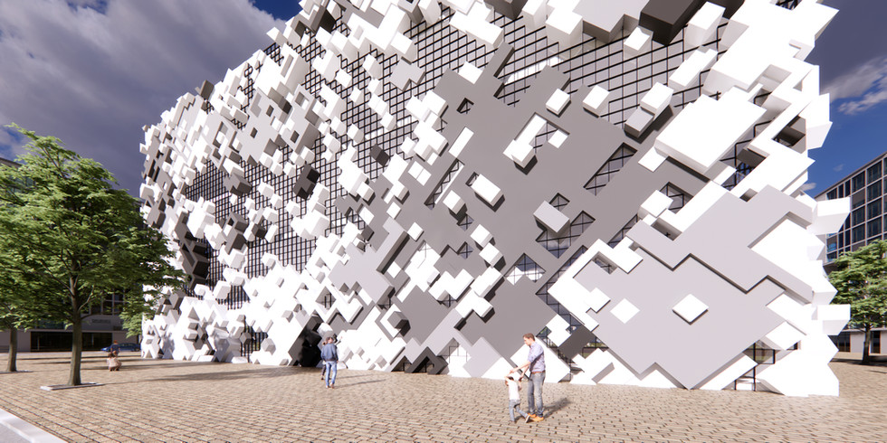 Pixel Pattern Tower