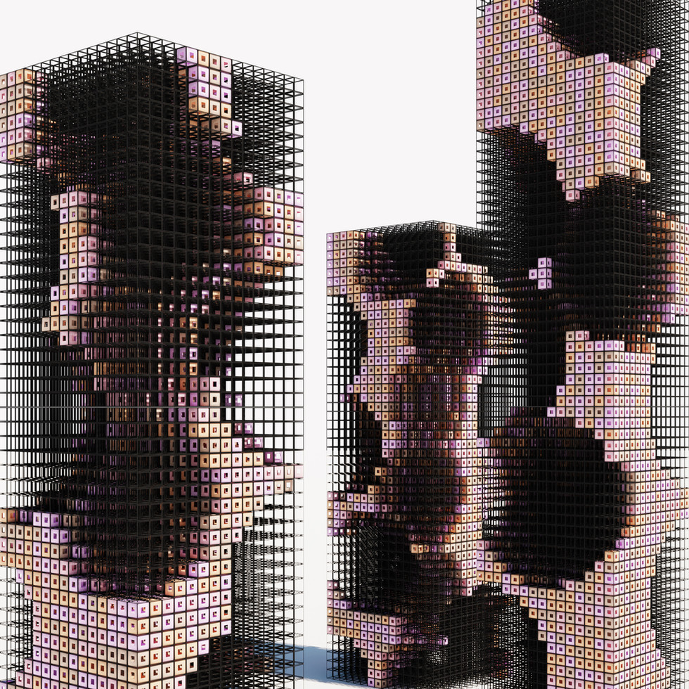 Voxel Tower