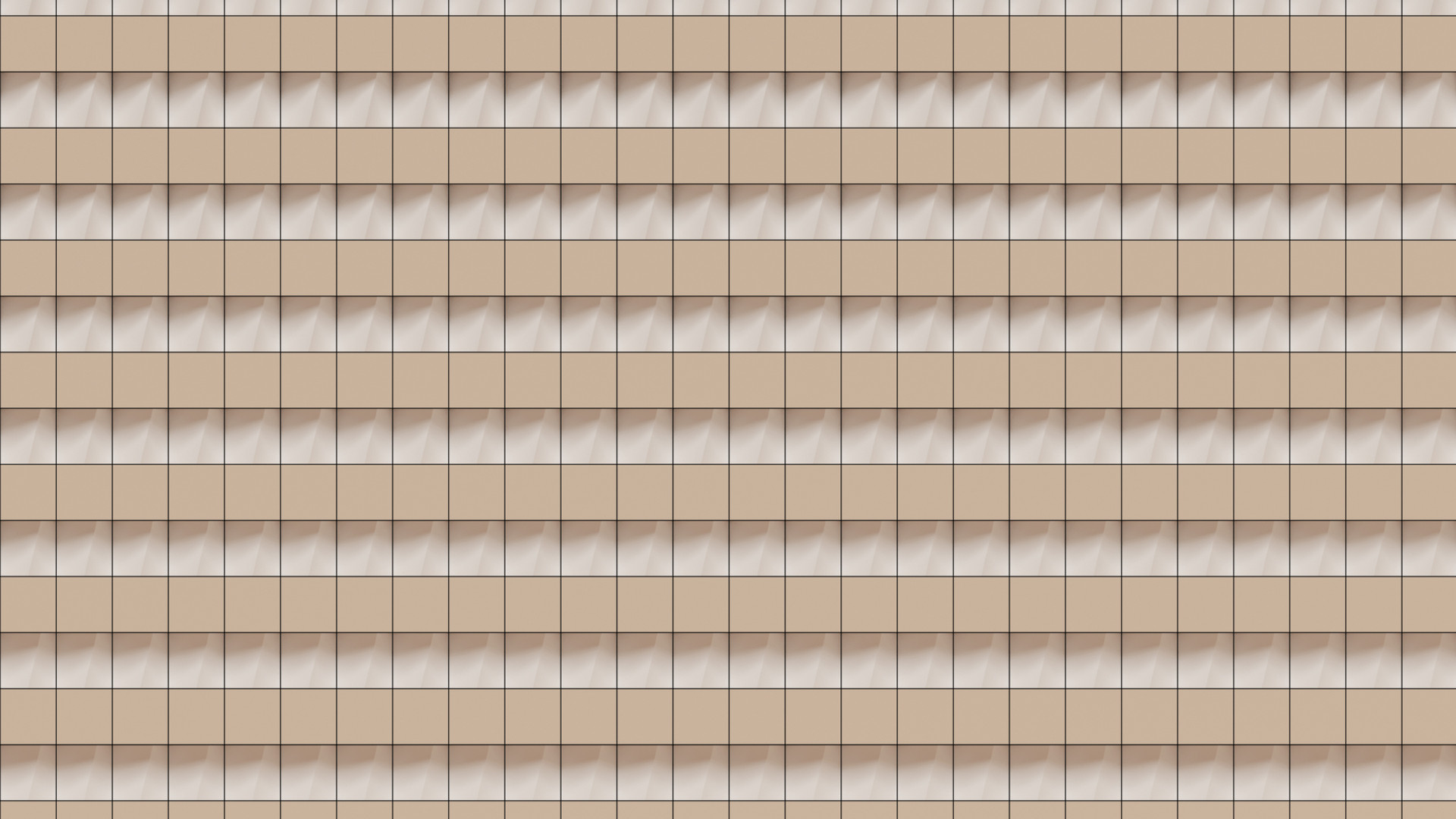 Extruded Blocks Pattern
