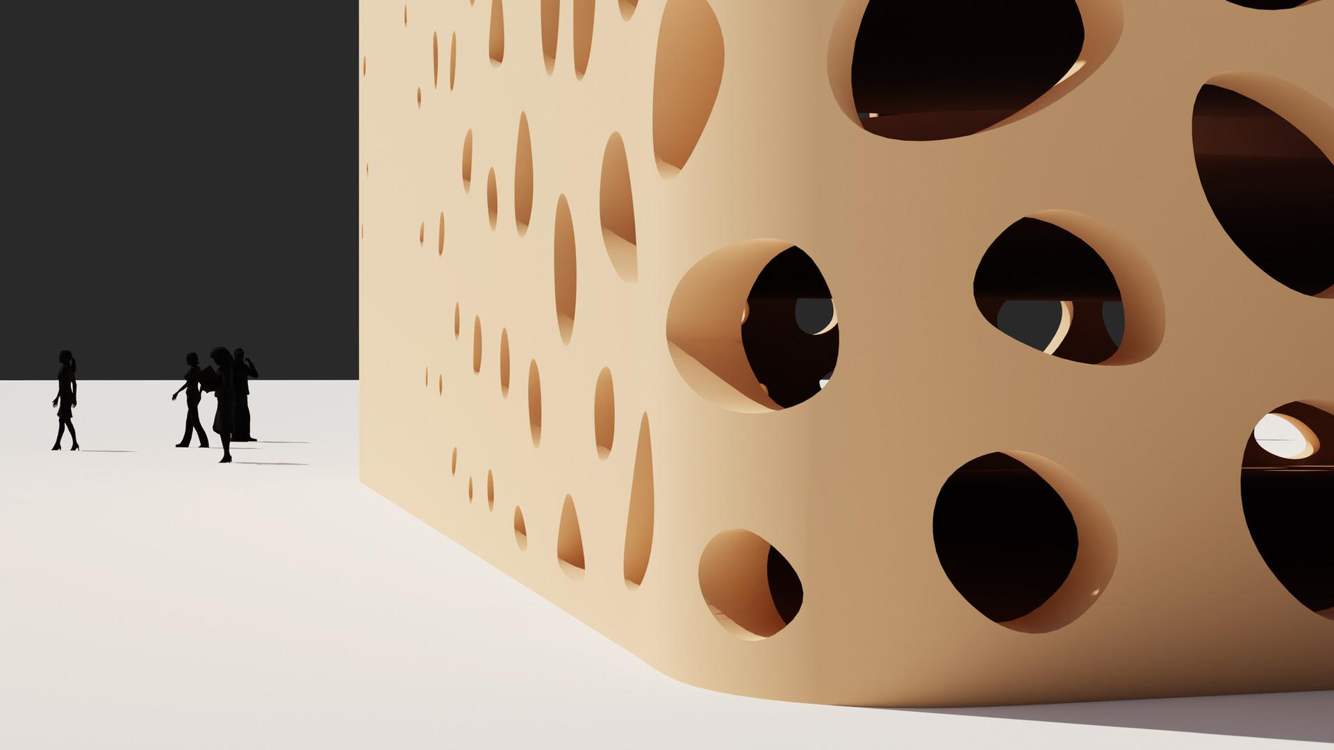 Voronoi Gradient Pattern