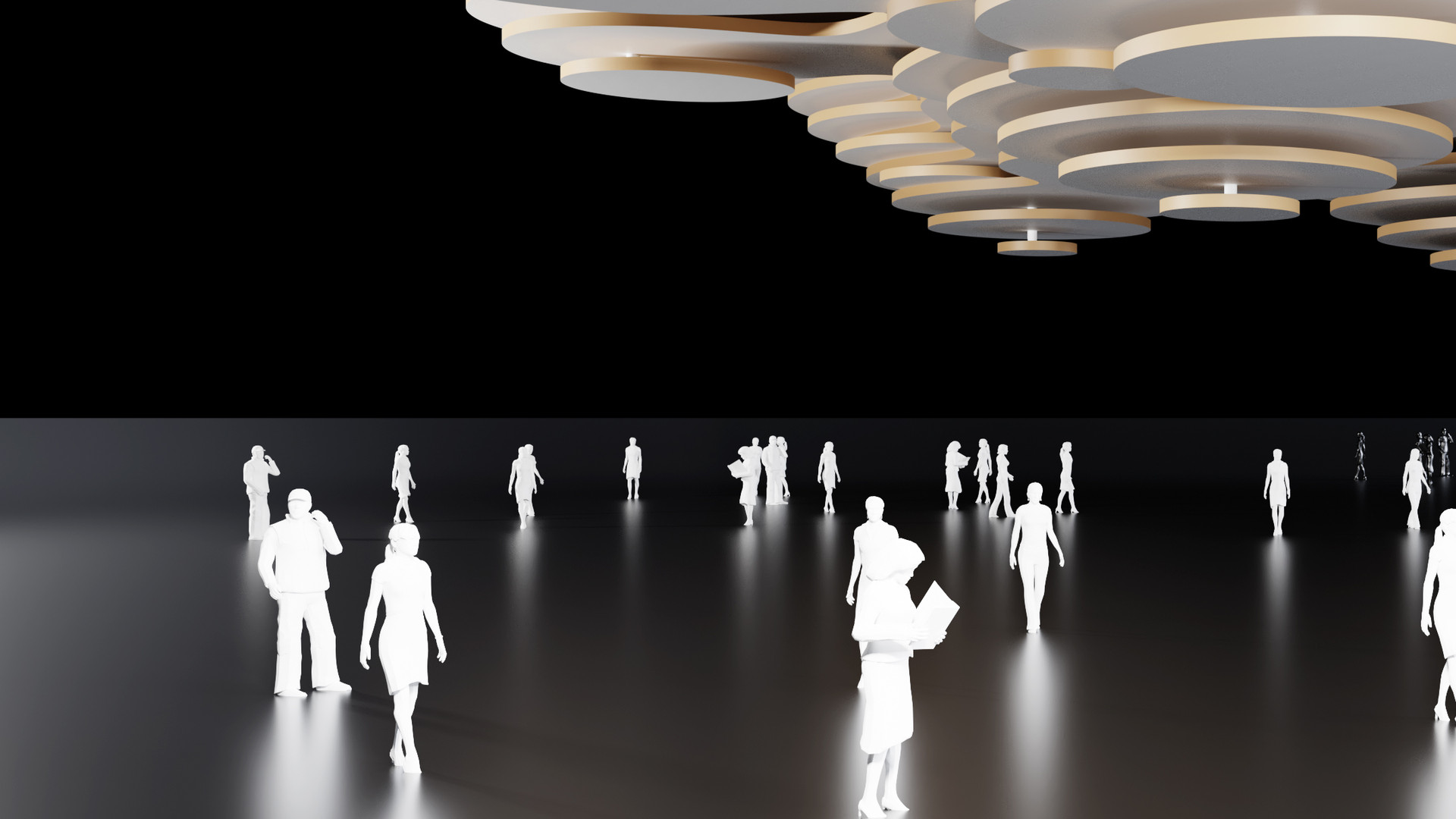 Metaball Contour Ceiling
