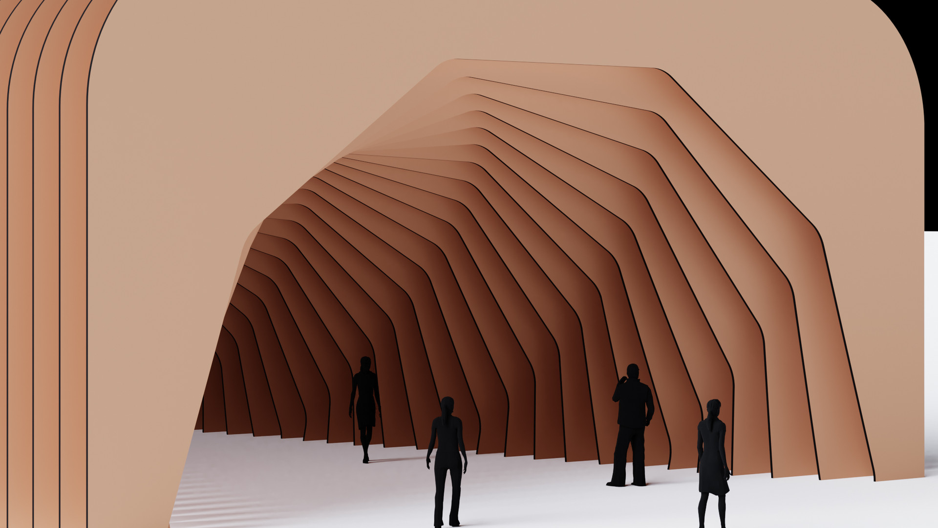 Twisted Polygon Tunnel