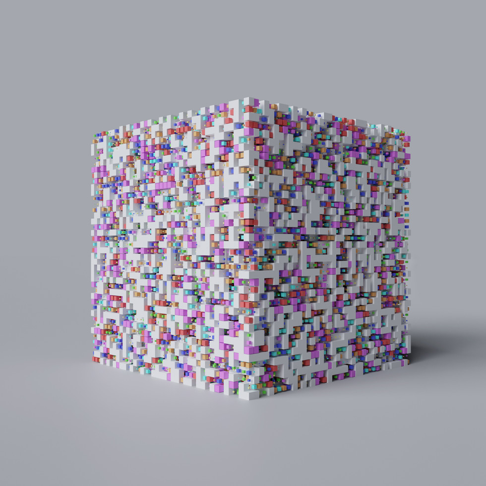 Scaled Cubes