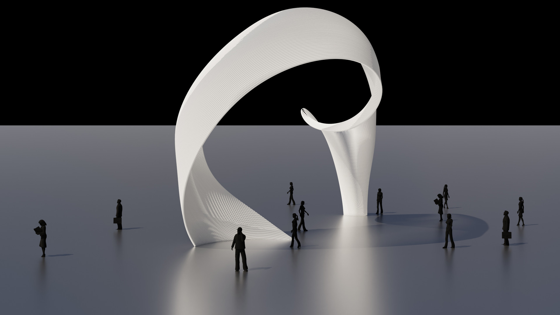 Twisted Arch Gate