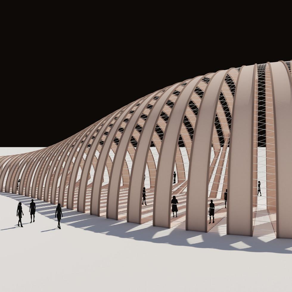 Parametric Shell Pavilion
