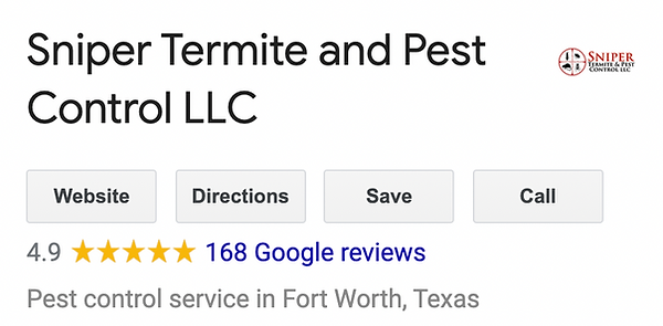 highly recommended pest control company.