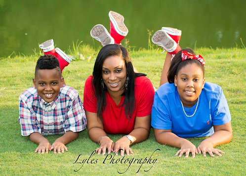 Kim family photo shoot