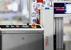 Fiber laser for coding in flexible packaging, film, plastic and aluminum coated containers.