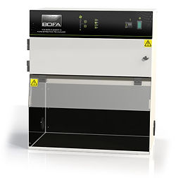 The complete cabinet fume extraction solution for Conformal Coating applications.