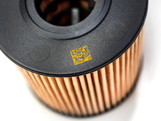 Coding and Marking on Plastic and Rubber Parts by Linx CIJ printer