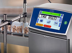 CIJ continuous inkjet printer by Linx