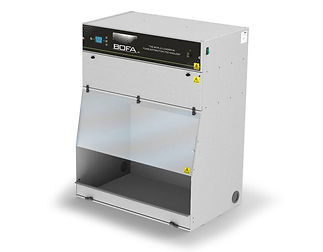 The complete cabinet fume extraction solution for a broad range of applications, with a taller, larger working area.