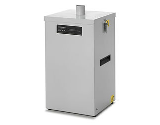 The DustPRO 50 is a small, compact high vacuum unit with a large capacity bag filter for light weight applications.