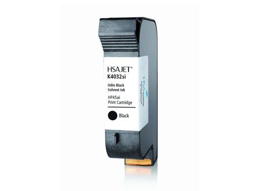 Solvent Black Ink  |  Thermal Inkjet Printer (TIJ)  |  HSAJET® K4054si