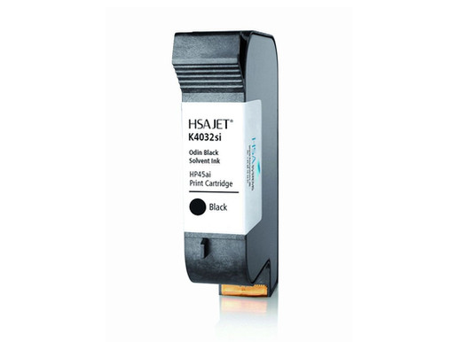 Solvent Black Ink  |  Thermal Inkjet Printer (TIJ)  |  HSAJET® K4054si