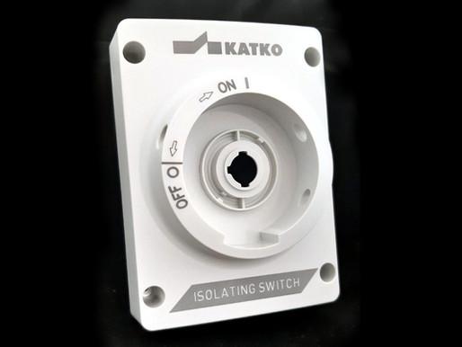 งานเลเซอร์มาร์คกิ้งสวิทซ์พลาสติก | Laser marking at two heights on a plastic switch by Macsa ID
