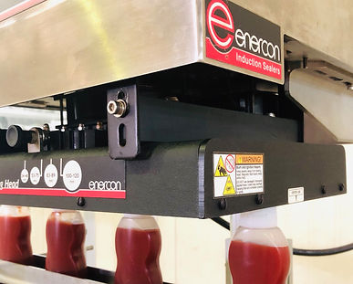 Enercon Induction Sealer for Mabin Chili Sauce