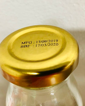 Metal Cap HSA Systems TIJ themal Ink Jet Priter (TIJ) with solvent base in