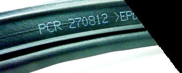 automotive part rubber profiles by Linx