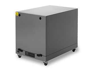 Industrial particle and dust extractor.