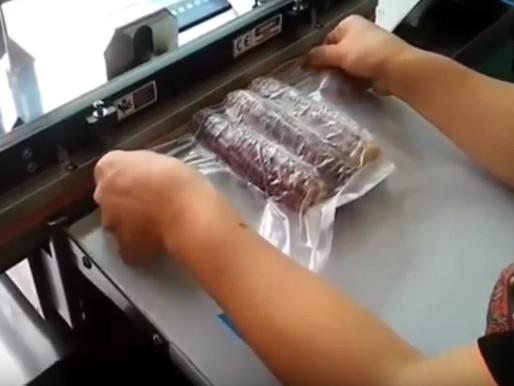 เครื่องซีลปากถุงชนิดแวคคั่ม สำหรับพืชผักผลไม้