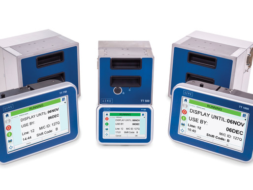 New range of Linx Thermal Transfer Overprinters provides a greater choice of printing solutions onto