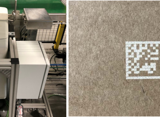 Macsa ID supplies 17 SPA C10 Lasers to Belgium based TVH for applying codes to cardboard boxes