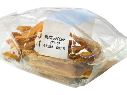 Date Printing on cookie bags