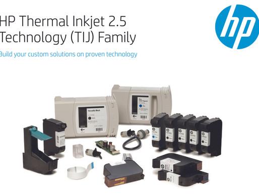 เครื่องพิมพ์เทอร์มอลอิ้งเจ็ตพริ้นเตอร์ (Thermal Inkjet Printer) เวอร์ชั่น 2.5 จาก  ฮิวเลตต์-แพคการ์ด
