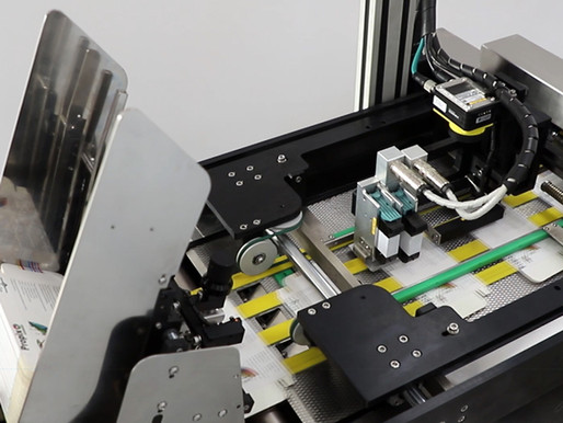 Compact flat carton serialization