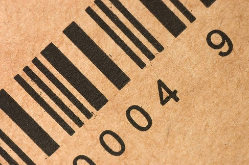 barcode-with-defects-printed-on-brown-ca