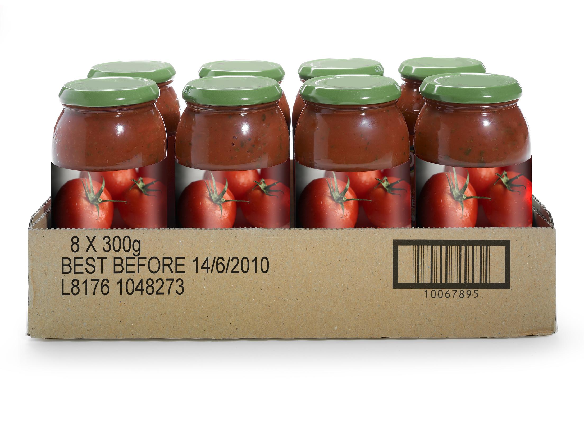 card tray food jars printing