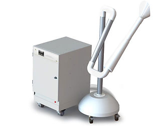 The complete fume and dust extraction system for podiatry applications.