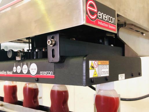 Enercon induction cap sealers prevent leaks, provide tamper evidence & preserve freshness