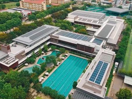 Gamuda Land kích hoạt hệ thống điện mặt trời cho khu phức hợp thể thao