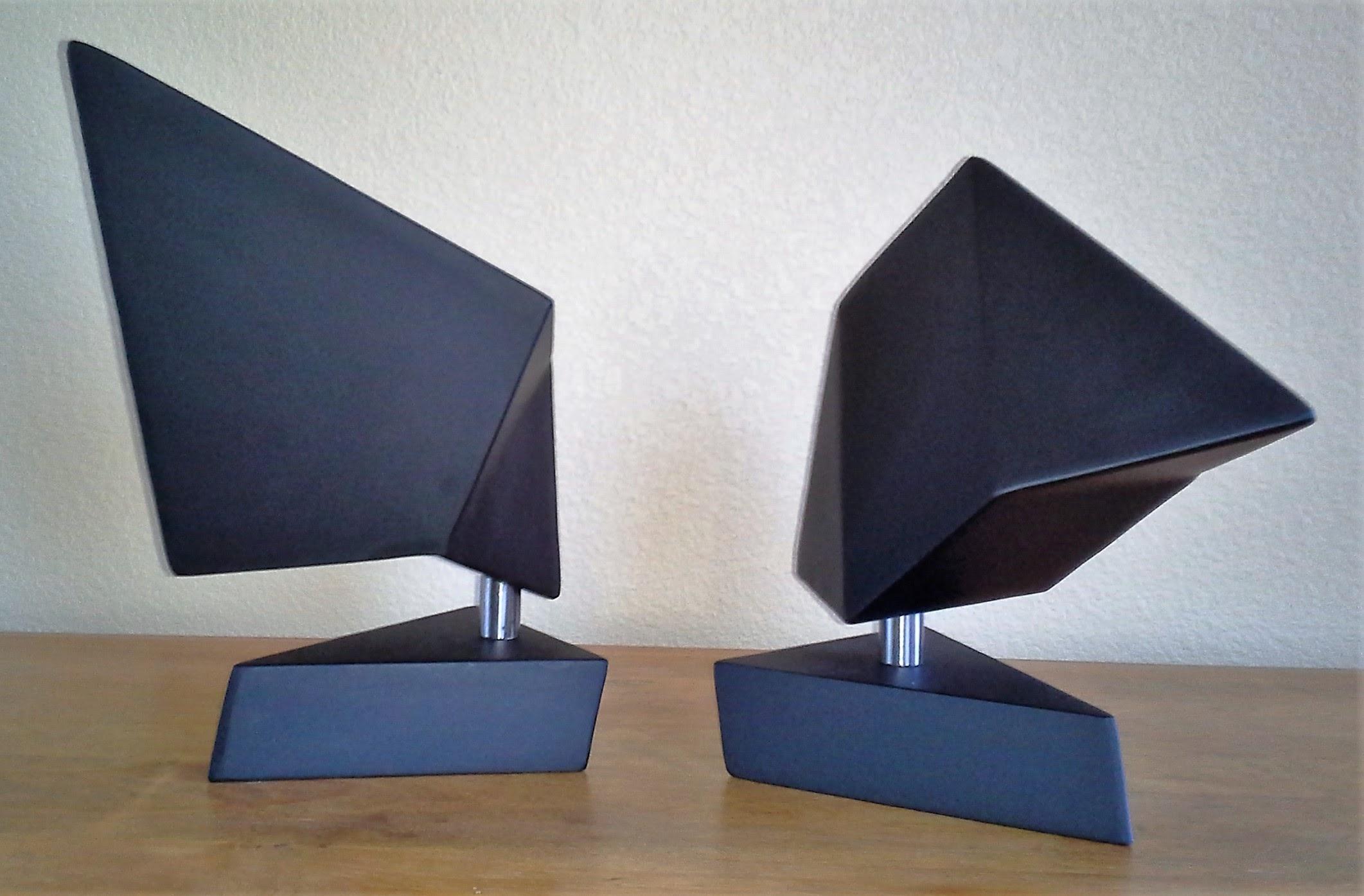 Hat and Trowel sculptures