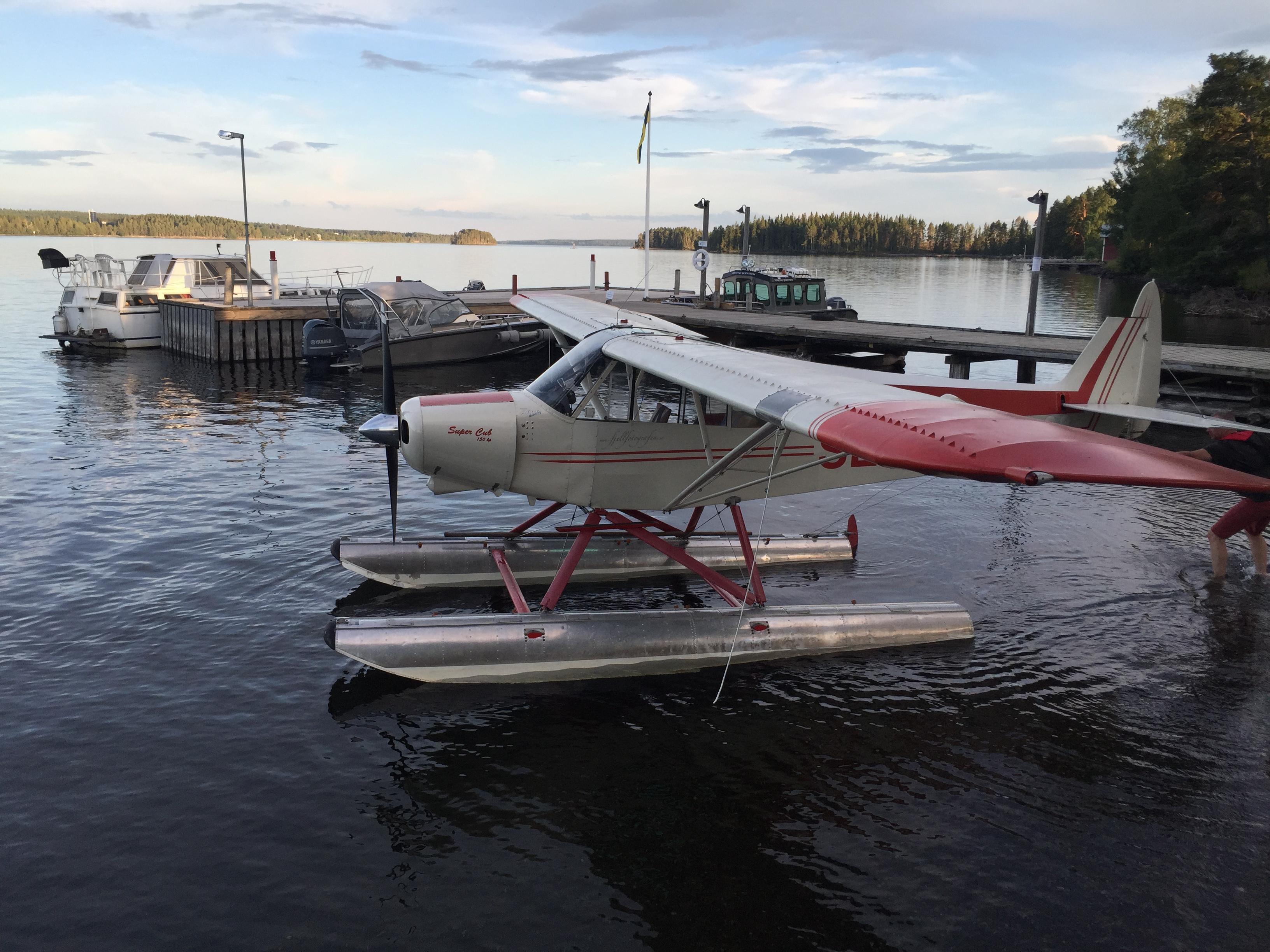 Sjöflyg på Verkön