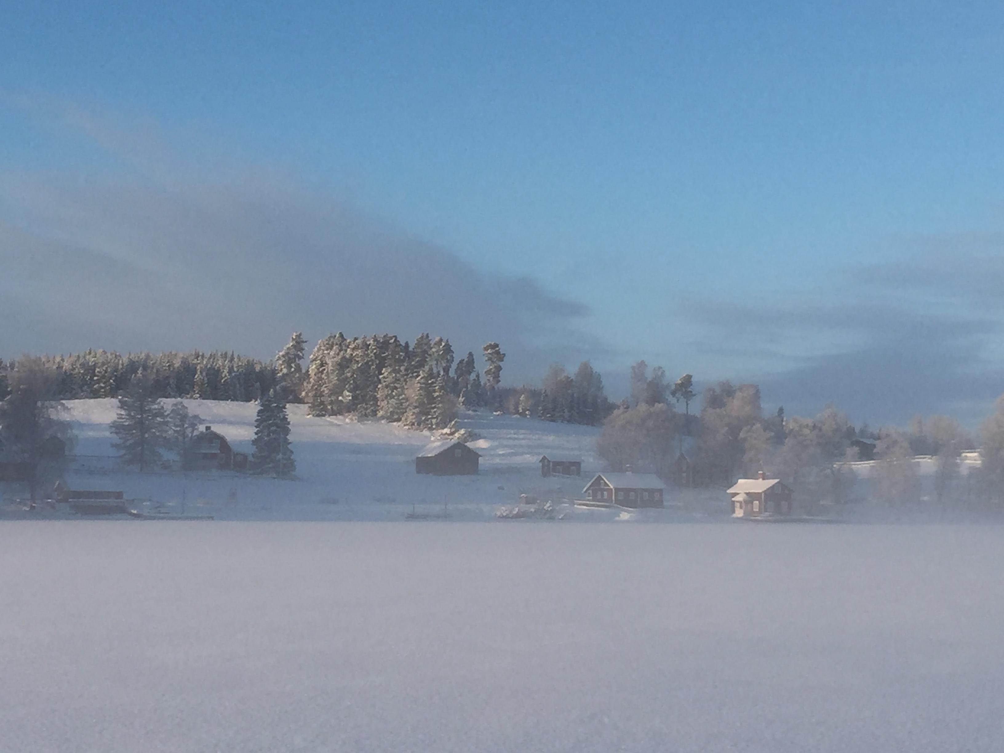 Vinter på Verkön