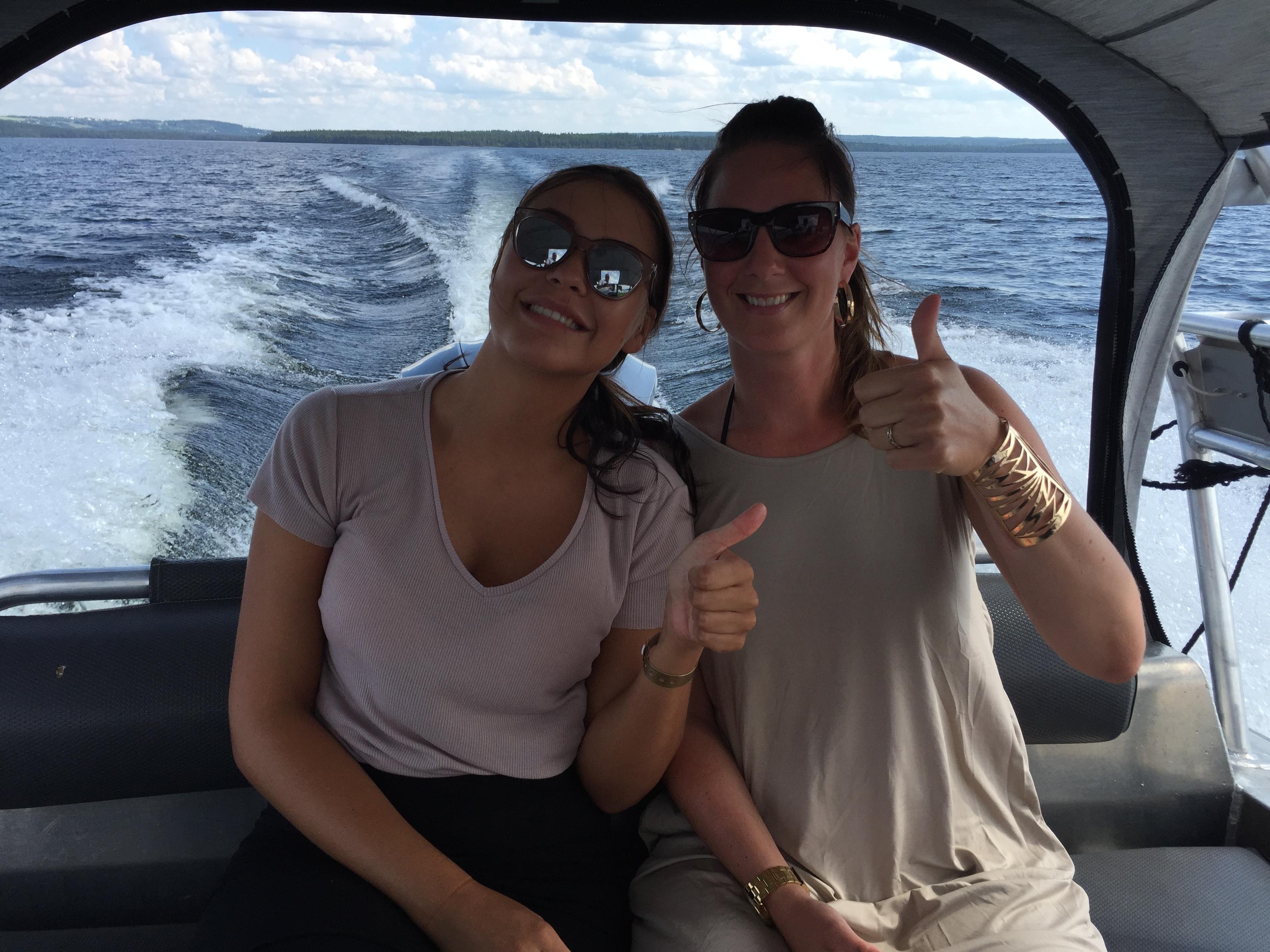 Båtresa till Verkön